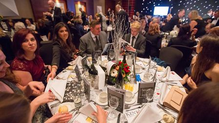 Guests enjoyed a fabulous evening at Ashford International Hotel, our venue for the 2018 Awards (pho