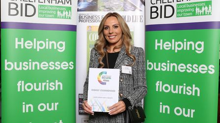 Highly Commended Hair & Beauty Business of the Year Laura Leigh from Laura Leigh Hair & Beauty