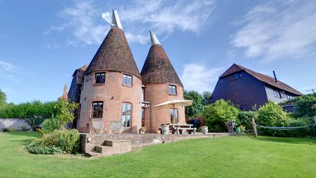 Converted oast with Sissinghurst Castle on the doorstep