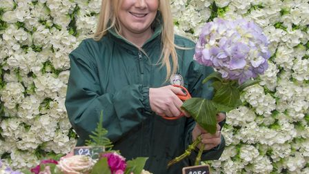 Rhubarb & Bramley head florist, Ashleigh Kington