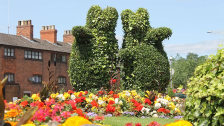 Bears are a common theme in Congleton