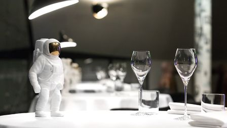Each table has its own spaceman