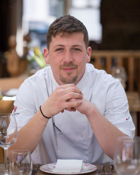 Aaron Costen, head chef at The George & Dragon (photo: Manu Palomeque)