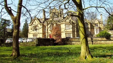 Arrowe Hall,: Arrowe Hall, a staely home now used to house adults with various mental health issues.