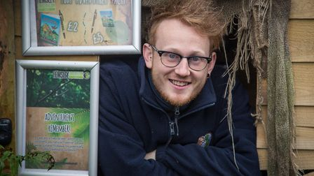 Adam Hemsley, owner and director of Hemsley Conservation Centre (photo: Manu Palomeque)