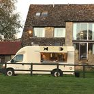 The Cotswold Chippy van