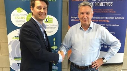 World leading tech firm, Auraya Systems, invest in Worcestershire