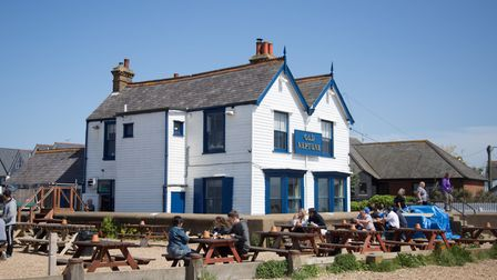 Old Neptune aka The Neppyis only one of a handful of pubs in the UK that is right on the beach