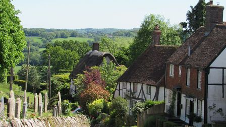 View of the Weald at Burwash (Photo by Duncan Hall)