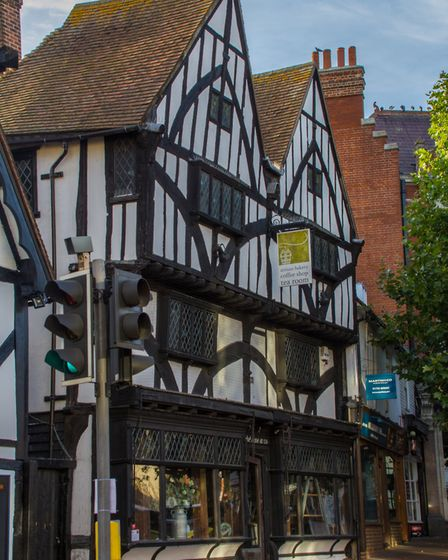 The Bakehouse at 124 is Grade II listed and housed in Tonbridge's second-oldest building (photo: Emm