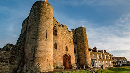 Tonbridge Castle is one of the best examples of a motte and bailey castle in the country (photo: Emm