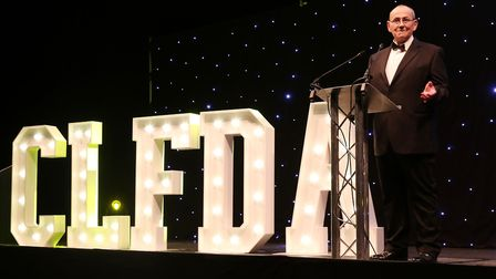 Editor Mike Lowe at the Costwold Life Food & Drink Awards 2018 (c) Antony Thompson/TWM