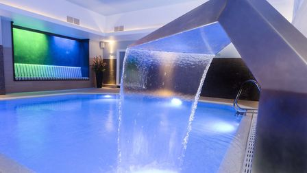 Relax in the pool at The Spa at The Midland, Manchester Credit: Paul Adams