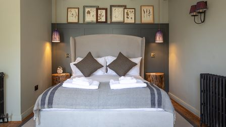 The bedrooms will house sink-in Feather & Black beds (c) Nick Osborne