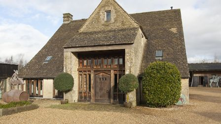 This very interesting building began as a threshing barn in the 1800s before it became derelict. The