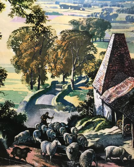 Rowland Hilder's lifelong passion for landscapes began when, as a poor student, he cycled into Kent