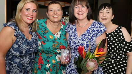 Alison Hamer, Ruth Warburton, Maura Jackson (Community Award winner) and Julie Spedding