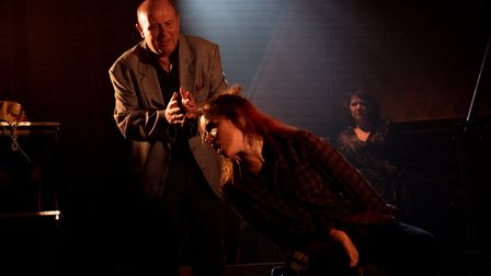 Sarah Louise Hughes in The Barn Theatre's The Rise and Fall of Little Voice