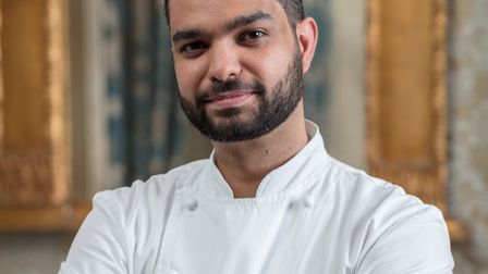 Jean-Didier Gouges head chef at The Petersham in Richmond (Photo by Simon Eldon)
