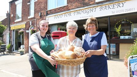 Food For Thought Bakery and the Bakery Cafe; Georgina Griffiths, Judy McNeill and Jennifer Slicher