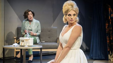 Katherine Kingsley as Dusty, in Dusty the Musical Credit: Johan Persson