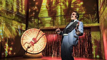 Rufus Hound in Dusty the Musical Credit: Johan Persson