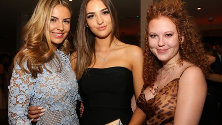 Millie Perrett, Amy Collins and Cara McCrory