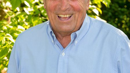 Ken Farrington, who has just released his autobiography (Photo by Andy Newbold)