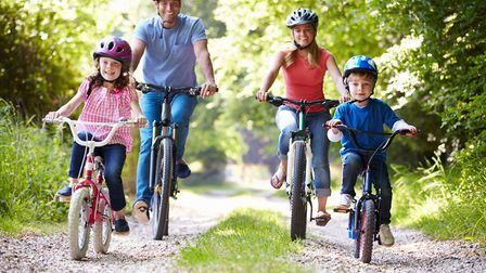 For lots of cycling route ideas around the Cotswolds, visit www.cotswoldsaonb.org.uk (c) monkeybusin