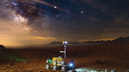Life on Mars? Rover built on Stevenage to find out