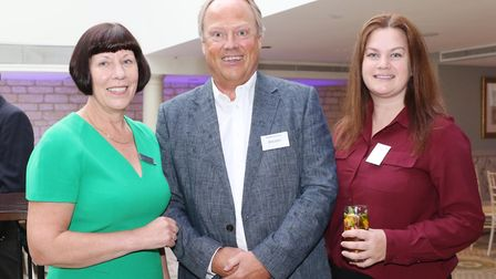 Steph Hughston from Handelsbanken, Chris Gibbs from The Growth Hub and Nicole Archer from Cotswold L