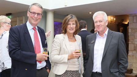 Giles Cooper from Cotswold Surveyors, Jane Witek from Hughs Paddison and David Pye from Handelsbanke