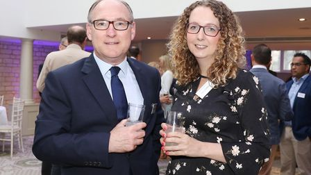 Mark Anton-Smith from Knights and Sara Crowther from Crowthers