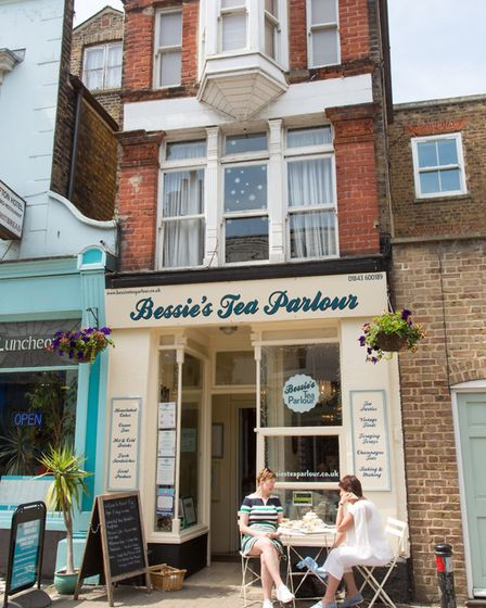 Time for a cuppa at this vintage tea parlour (photo: Manu Palomeque)