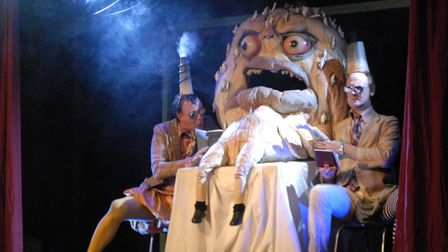 Forkbeard Fantasy toured the world with its unique brand of surreal shows