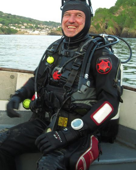 All kitted up for a dive