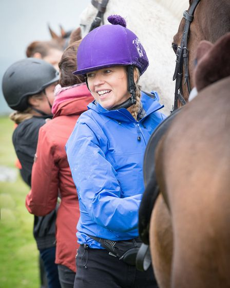 Sara Cox riding on horseback over Dartmoor: 'Riding is one of the best ways there is to relax. It gi