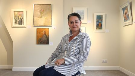 Susan Eyres of the Gateway Gallery