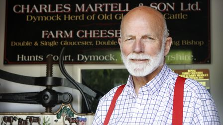 Charles Martell, the High Sheriff of Gloucestershire, a farmer, cheesemaker and distiller (c) Andrew