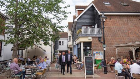 Coffee culture and business go hand in hand in leafy Sevenoaks (photo: Manu Palomeque)