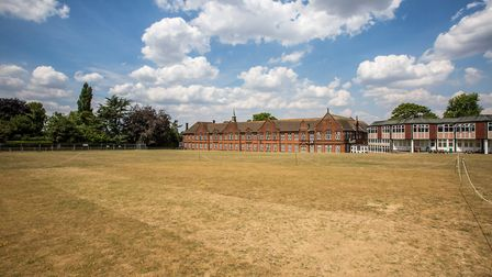 Maidstone Grammar School, where William Golding taught English and Music (photo: Manu Palomeque)