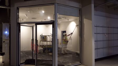 The Discovery Room: Behind the scenes of John Lewis Cheltenham, to be opened October 18, 2018