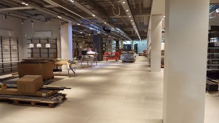 Behind the scenes of John Lewis Cheltenham, to be opened October 18, 2018