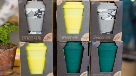 Ecoffee Cups are being sold at Hamerton + Jones in Goudhurst (photo: Manu Palomeque)