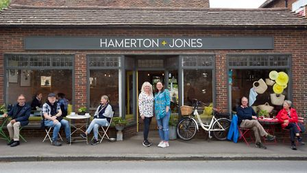 Hamerton + Jones in Goudhurst, where reusable coffee cups are becoming the norm among customers (pho