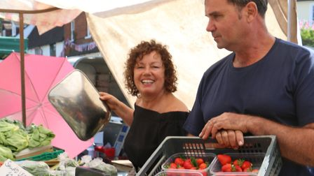 Gary and Lorraine Curd: a family tradition of market gardening (photo: Severien Vits)