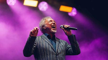 Sir Tom Jones at Chester Racecourse