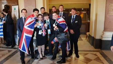 The UK team at the 50th International Chemistry Olympiad