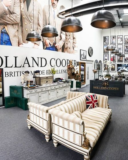 Holland Cooper Clothing showroom