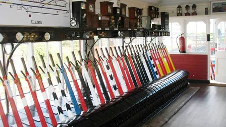 Control the original signals and more at St Albans Signal Box and Railway Museum